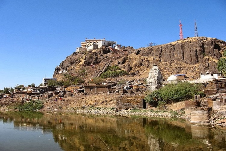 Top of the Pavagarh Hill, a UNESCO World Heritage Site
