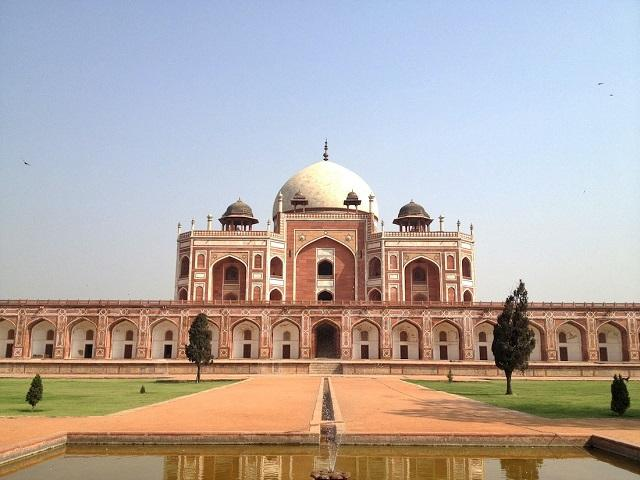 Humayun's Tomb in Delhi was first Charbagh to be Built in India