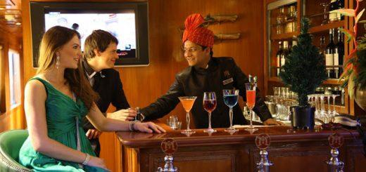 Bar Facility, Maharajas' Express