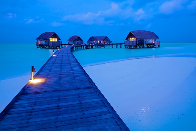 The whimsical beauty of Maldives invites tourist from all over the world.