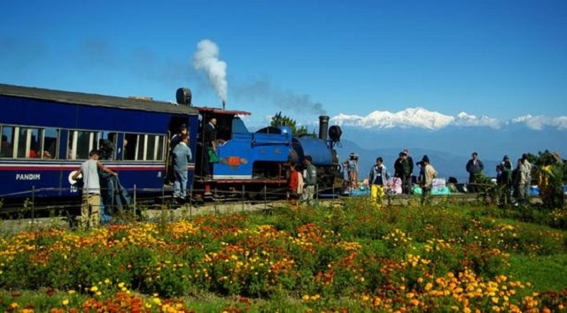 """Darjeeling Himalayan Railway, also known as the """"Toy Train"""", is listed as a World Heritage Site."""