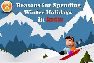 Reasons for Spending Winter Holiday in India