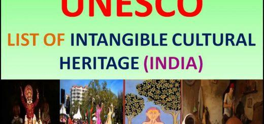 UNESCO Intangible Cultural Heritage of India