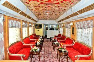 Old steam locomotive - Palace on Wheels