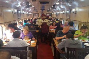 Buddhist Circuit Tourist Train - Dining Car