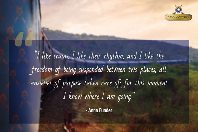 Train Travel Quotes - that will evoke the traveler in you