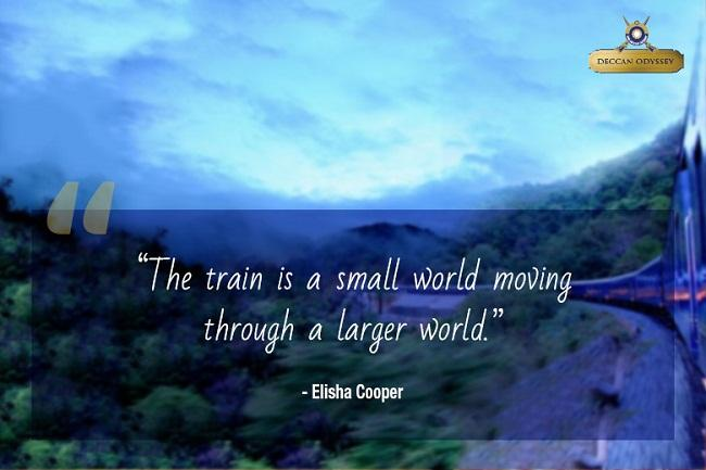 Motivational Train Travel Quotes That Will Evoke The