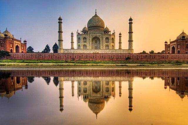 Taj Mahal in Agra is the most iconic symbol of India