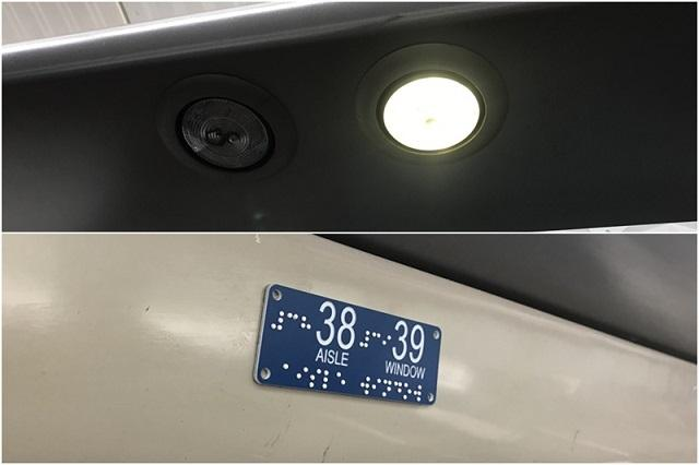 Vande Bharat Express: Apart from personalized reading lights, each seat numbers are also braille integrated to make for a more convenient journey for the visually challenged passengers.