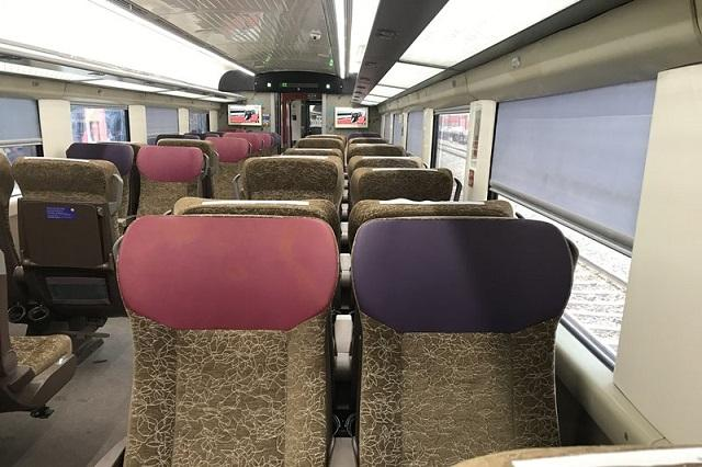 Vande Bharat Express: The new train is equipped with spacious luggage shelves and an LED diffused lighting system enabling passengers to read books in personalized reading light. The European-style golden, violet and pink color seats make the journey in the Executive Chair car comfortable.