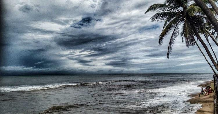 Goa's rainy season is between the months of June and August.