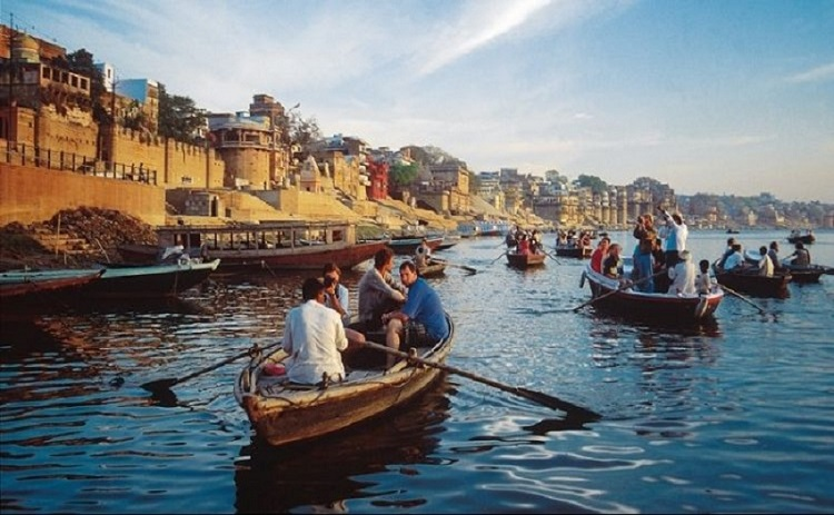 Indulge in Boat Trip on the Holy Ganges at Dawn or Dusk