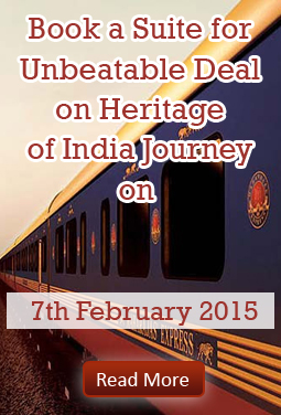 Maharajas Express Heritage of India offer - 2015
