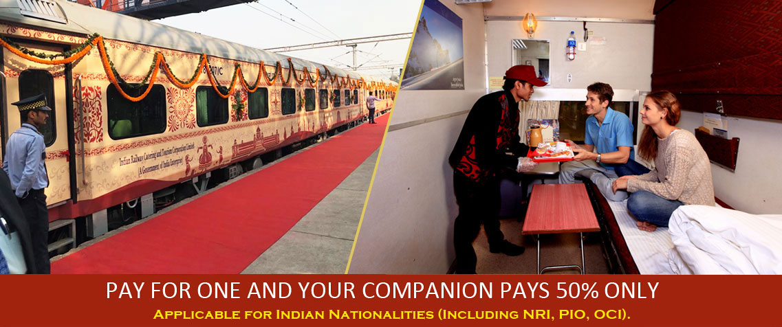 Buddhist Circuit Tourism Train Companion Offer 2020