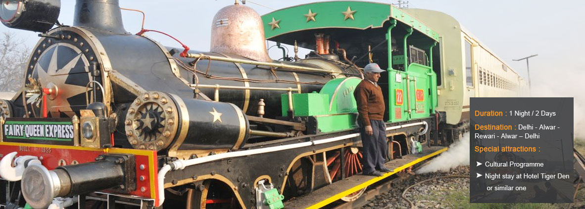 Steam Express Fairy Queen - Heritage Trains in India