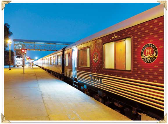 IRCTC is the absolute owner of Maharajas Express train