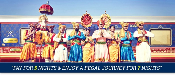 Deccan Odyssey Early Bird Offer for selected journ
