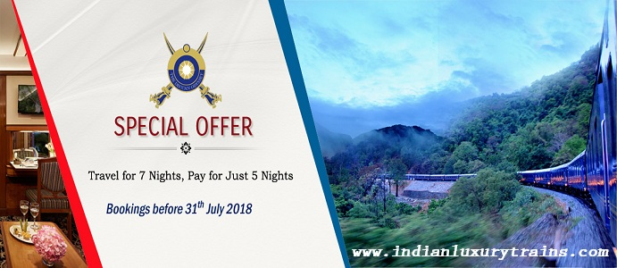 Deccan Odyssey - Travel for 7 Nights, Pay for Just