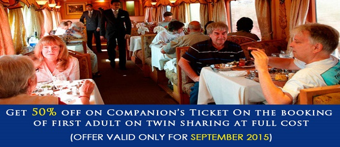 Deccan Odyssey Offers September 2015