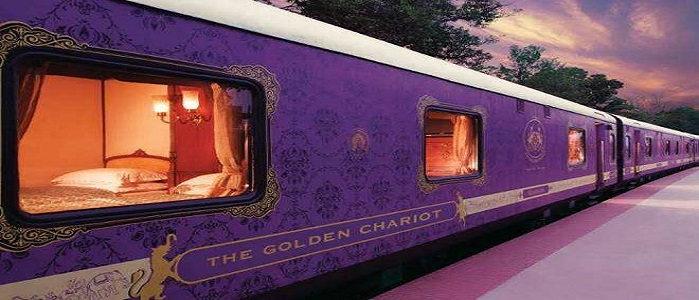 Golden Chariot - Luxury Train Tours in South India
