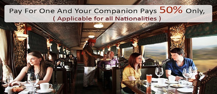 Offers - luxury train travel in india
