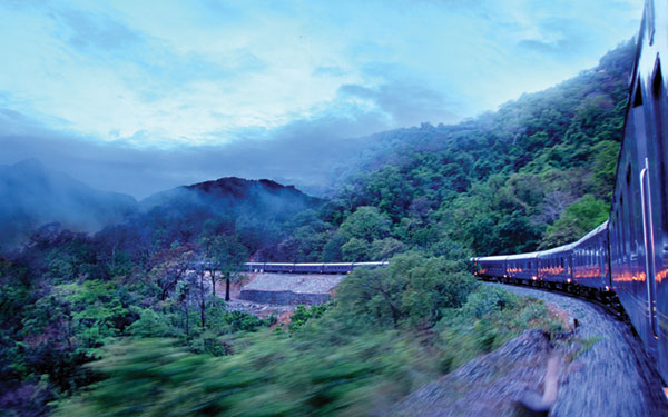 Deccan Odyssey Train Christmas Special Departure
