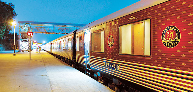 Maharajas Express back on track
