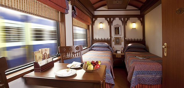 Deluxe Cabin Twin Bed, Maharajas Express Train