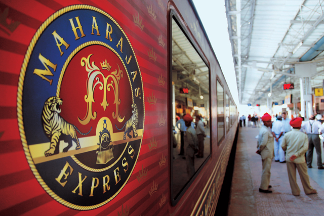 maharajas' express india a royal way Offering information on train, journeys, facilities, departures and booking of maharajas express, india's most luxurious train along with news update and travel tips.