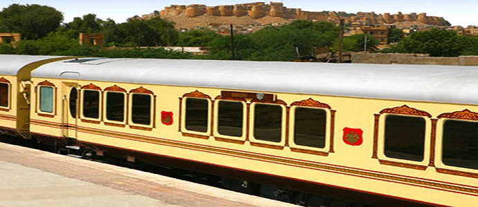 Only a few cabins remains for Palace on Wheels