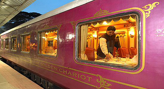 Tariff and Itinerary details updated for the Golden Chariot