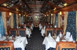 Palace on Wheels dining coach