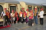 Traditional Welcome, Palace on Wheels