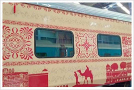 Rajasthan Tourist Train train